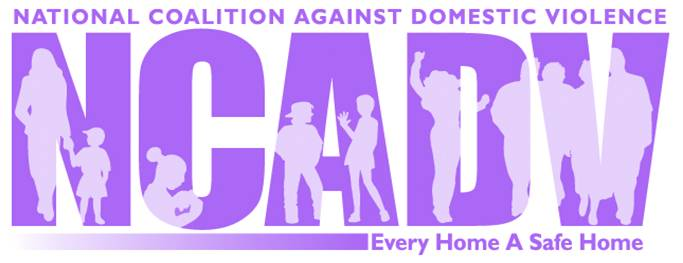 National Coalition Against Domestic Violence logo art