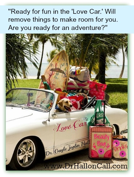 ready for fun in the love car-22